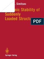 Dynamic stability of column subjected to suddenly applied load