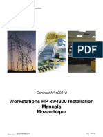 Manuals-Installing Workstations HP Xw4300-MOZ