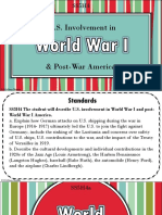 world war i and postwar america powerpoint