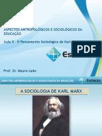 Estácio UNESA Cel0466 Aspectos Antropológicos e Sociológicos Da Educação  Aula_05(1)