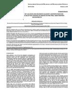 SUPPLEMENTATION OF CALCIUM AND SELENIUM AGAINST CADMIUM INDUCED BIOACCUMULATION IN SELECTED TISSUES OF FRESH WATER FISH, OREOCHROMIS  MOSSAMBICUS