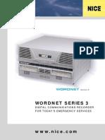 Wordnet Series 3 Brochure