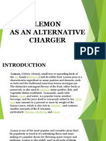 Lemon as alternative charger.pptx