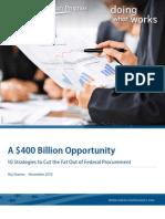 A $400 Billion Opportunity