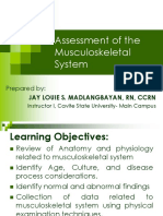 NURS02-Assessment of the Musculoskeletal System