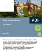 Electrodynamic Forces