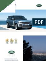 Range Rover Brochure 1L4051910000BINEN01P Tcm297 716409