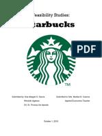 Feasibility study of Starbucks