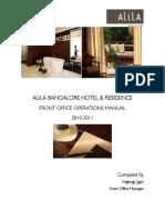 Department Manual