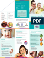 Brochure-Importancia de La Salud Oral