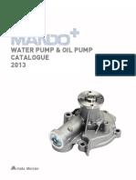 MANDO water_pump__oil_pump_mando 2013