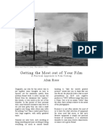 Getting the Most Out of Your Film FREE DOWNLOAD
