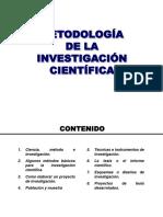 METODO INVESTIGACION CIENTIFICA