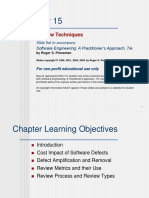 SE-II - SQA - Reviews - lecture 5.ppt