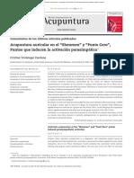 Revista El Servier Auriculoterapia Punto Zero y Shenmen