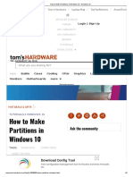 How to create Windos pertition .pdf