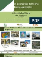 Planificación Energética Territorial Ciudades sostenibles
