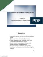Database System Chapter 2 Database Design 2_Design Method