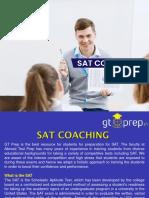 SAT Exam Preparation at GT Prep is highly rewarding.
