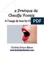 Guide Pratique de Chauffe Vocale 1