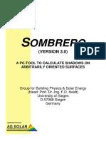 Manual del Software Sombrero