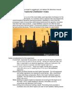 16 Distillation Notes