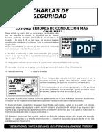048-Los 10 Errores de Conduccion Mas Comunes