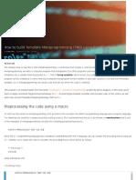 How to build Template Metaprogramming (TMP) using C++[Tutorial] _ Packt Hub.pdf