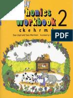 Jolly Phonics Workbook 2. c k e h r m d