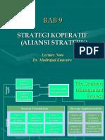 BAB 9-Aliansi Stratejik