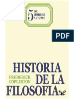 Copleston Frederick Historia de La Filosofia 05 de Hobbes a Hume