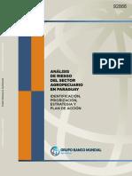 Análisis de Riesgo Del Sector Agropecuario en Paraguay