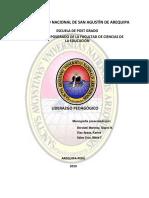 Monografia Liderazgo Pedagógico - Grupo 10