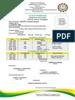 Latest Format Class Program