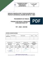 PDT-CMLB-03041908 Pruebas Eléctricas y Operacionales a Desconectador PAT REV.0