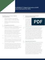 Usage Guidance for UKHO Digital Publications