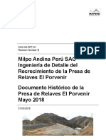 Relacion de ingenierias Ausenco (historicos) CHO-06-RPT-001 Rev B.PDF