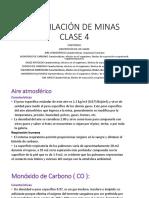 Ventilación de Minas Clase 4