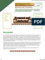 Pavingexpert - Formwork and Shuttering
