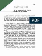 Estudo sobre os hinos lucanos (benedictus)