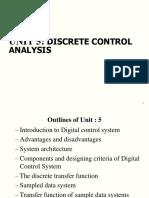 Unit 5 Discrete Control Analysis.ppt