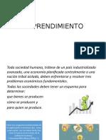 Emprendimiento Micro Macro Economía