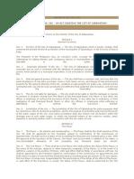 Cabanatuan Charter