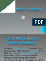 Historia Precolombina