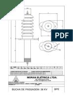 BPE 36KV bucha interno externo