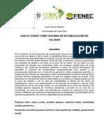 Suelo Cosido Como Sistema de Estabilización de Taludes - Karol Melissa Gómez Aguirre