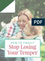 Stop Losing Temper