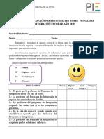 Encuesta de Satisfaccion Para Estudiantes (1)