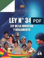 Ley de la juventud y reglamento