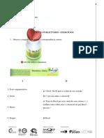 Ficha Exercícios Publiciade